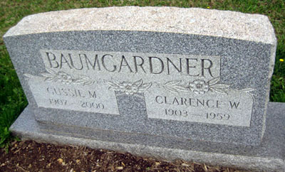 Clarence W. & Gussie M. Baumgardner