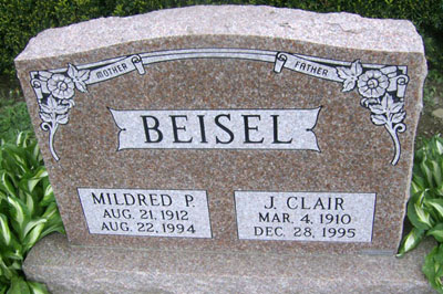 J. Clair & Mildred P. Beisel