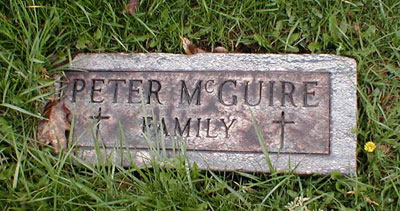 Peter McGuire Family